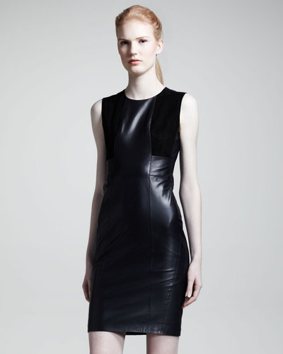 Belstaff Camborne Leather Sheath Dress