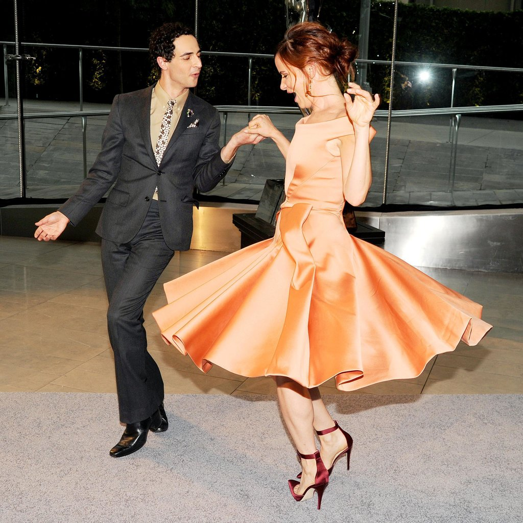 Zac Posen and Juliette Lewis at the 2013 CFDA Awards. Source: Billy Farrell/BFAnyc.com