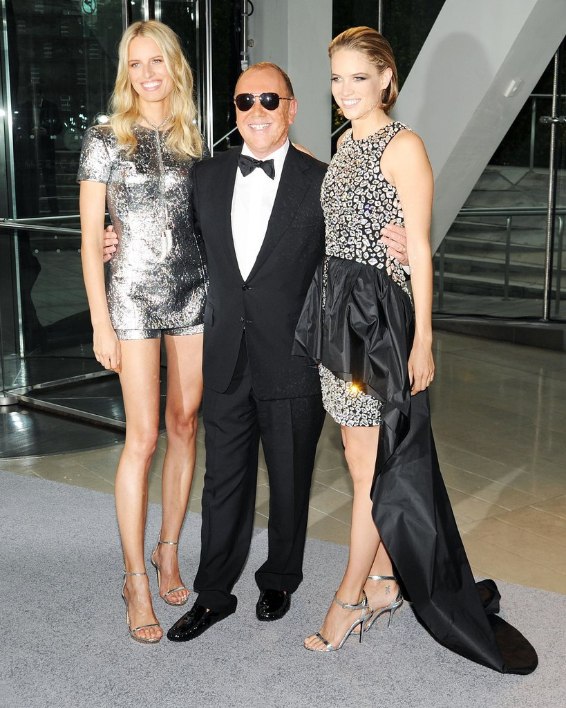 Michael Kors with Karolina Kurkova and Cody Horn at the 2013 CFDA Awards.  Source: Billy Farrell/BFAnyc.com