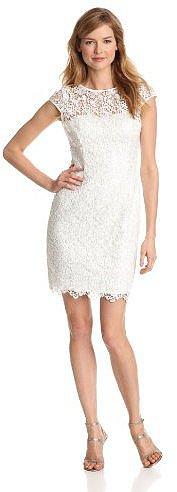 Adrianna Papell Women's Cap Sleeve Dress