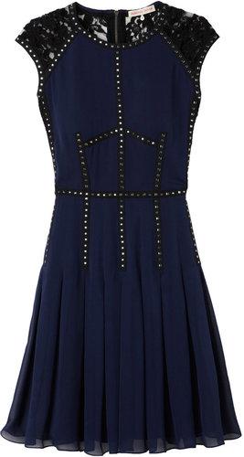 Silk Lace T Dress