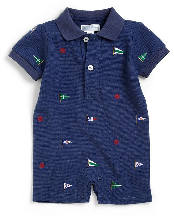 Ralph Lauren makes his iconic style fit for your little guy with this nautical shortall ($25, originally $35).