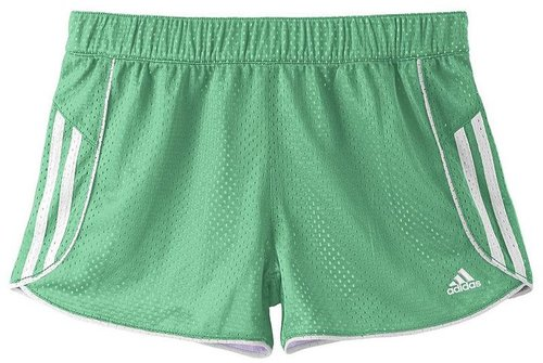 Adidas mesh shorts - girls 7-16
