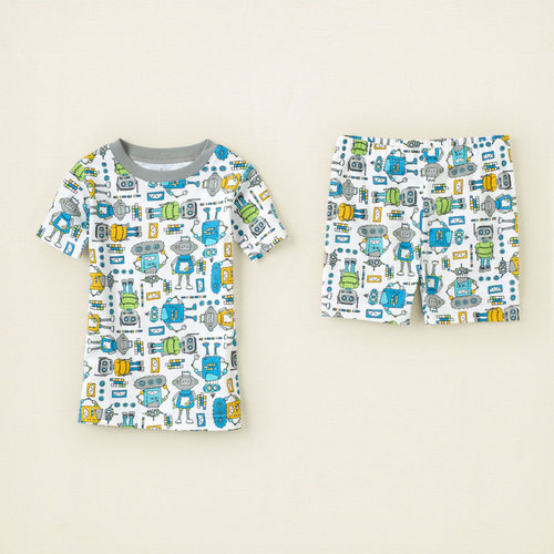 Robot cotton pjs