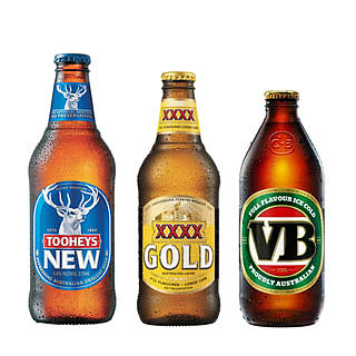 Calories in Top 7 Australian Beers