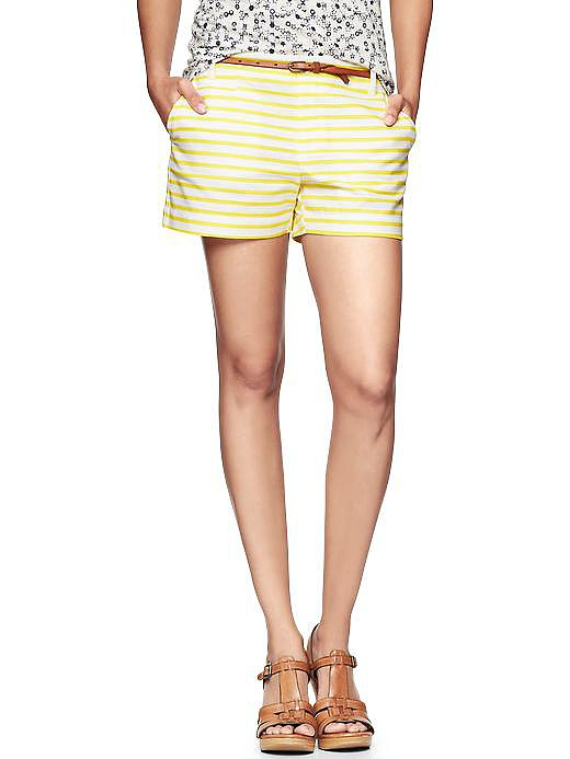 If you ask us, you can never go wrong with classic stripes. That's why we can't get enough of these Gap striped shorts ($40, originally $50).