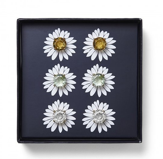 The perfect present for a trio of besties? This pretty C. Wonder Flower Bling Box ($42) has a pair of earrings for everyone.