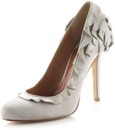 Badgley Mischka Tai 2 Pumps, Light Gray