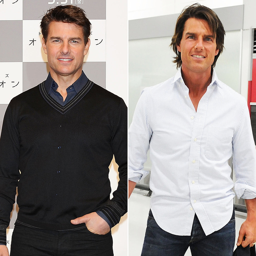 Tom Cruise: Better With Long or Short Hair?