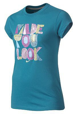 "Nike ""Made You Look"" Girls' T-Shirt"