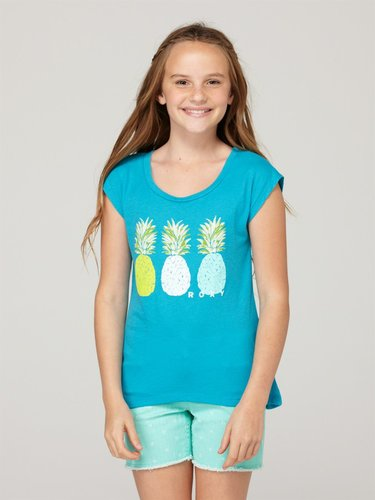 Girls 7-14 On The Field Scoop Tee