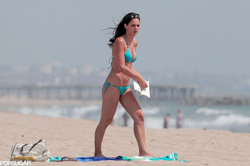 Desiree Hartsock showed off her bikini body in LA.