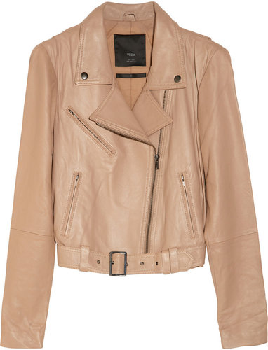Veda Julian leather biker jacket