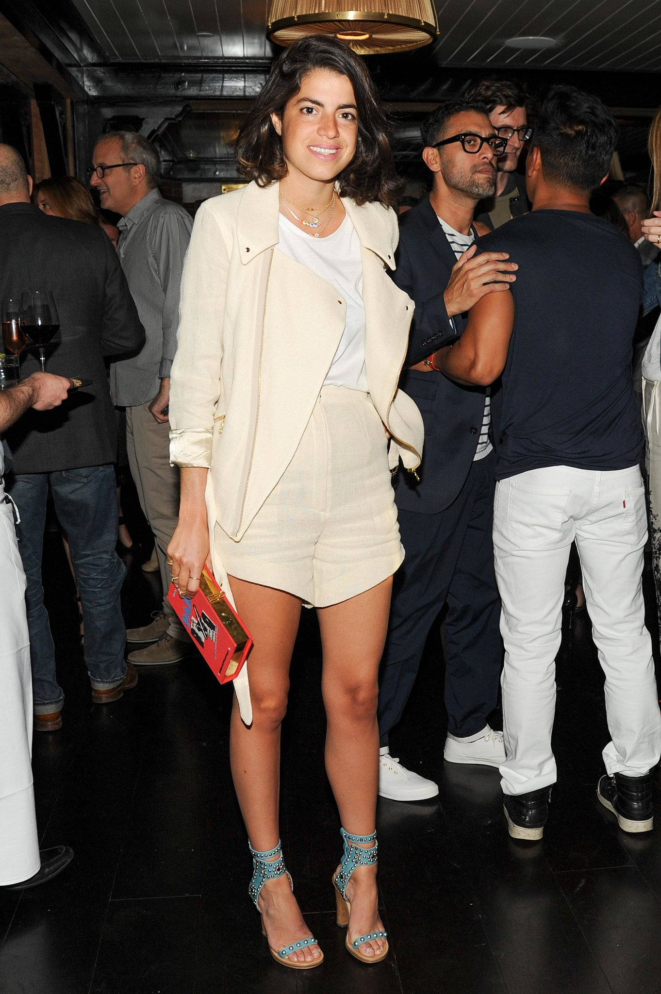 Leandra Medine at the J.Crew and CFDA/Vogue Fashion Fund dinner in NYC. Sour