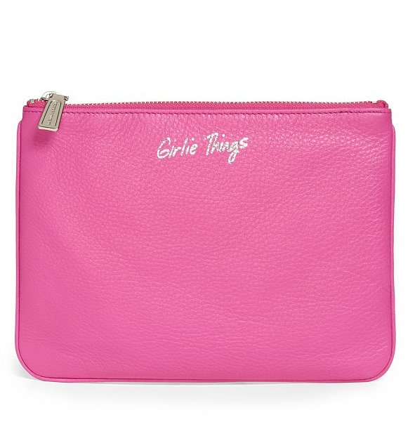 """She'll adore this Rebecca Minkoff Kerry pouch ($75) to store all of her other """"girlie things."""""""