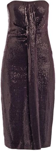 Diane Von Furstenberg Piaza cuvet sequined dress