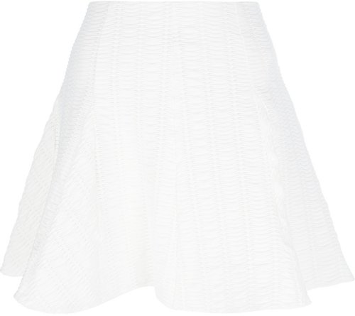 Rag & Bone textured flared A-line skirt