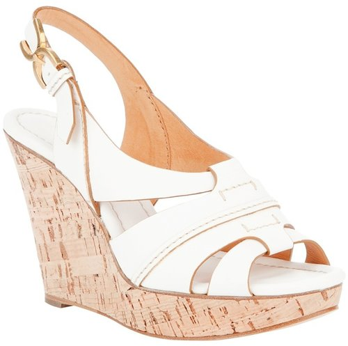 Chloé strappy wedge sandal