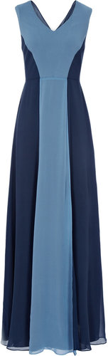 Alla COLOUR BLOCK MAXI DRESS