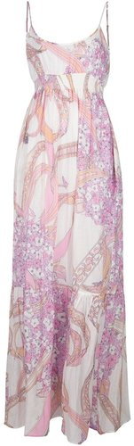 Emilio Pucci empire line maxi dress