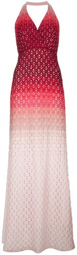 Missoni crochet halterneck maxi dress