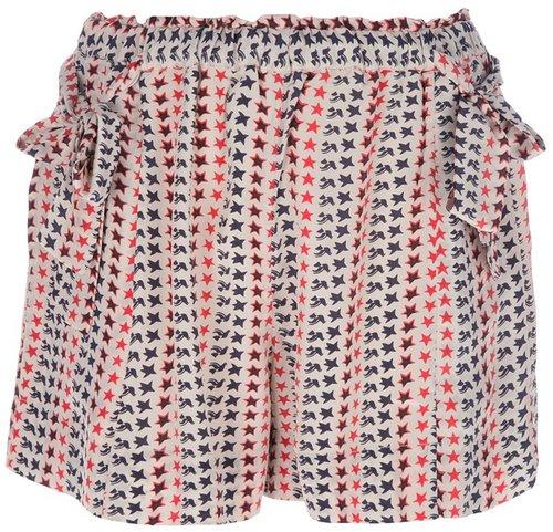 Isabel Marant Étoile 'Mel' printed shorts