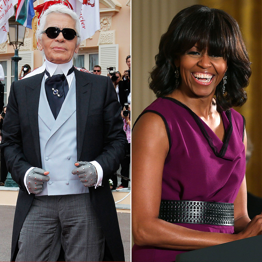 Karl on Michelle Obama's Bangs