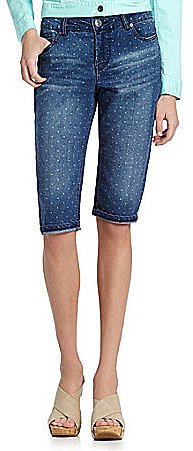 Liverpool Jeans Company Julia Short Denim Capri Pants