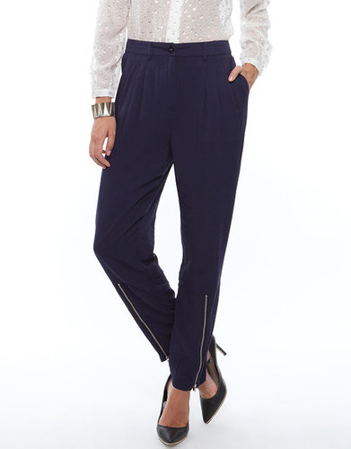 Something Else Zippered Suit  Pants