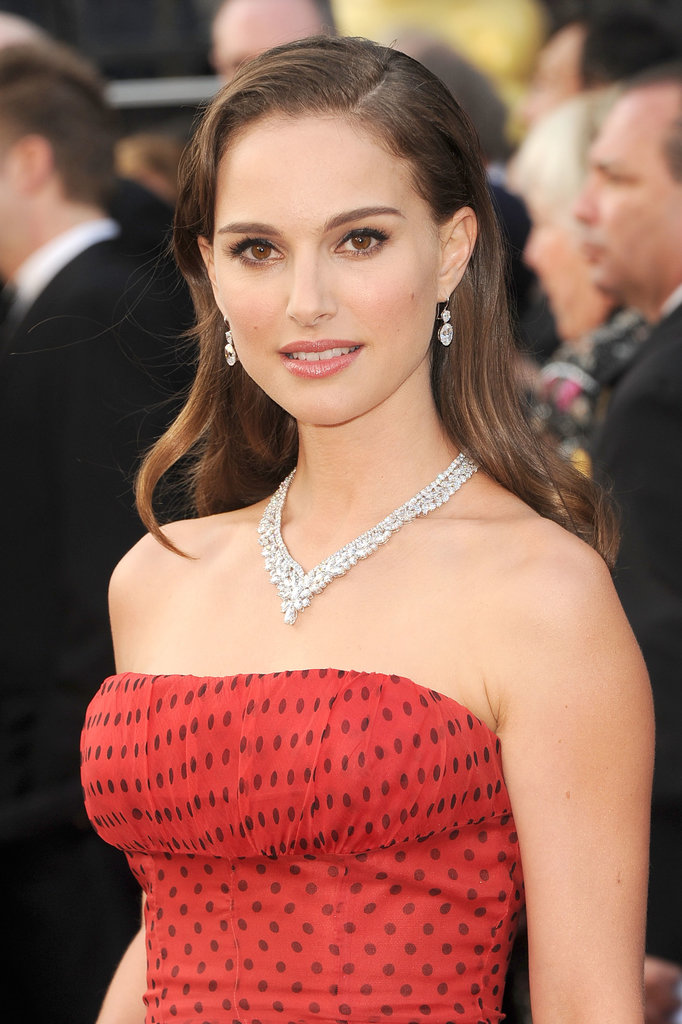 She opted for all-out glamour with bold brows and a smoky eye at the Academy Awards in 2012.
