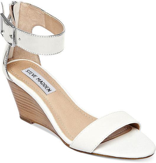 Steve Madden Women's Shoes, Nancy Demi Wedge Sandals
