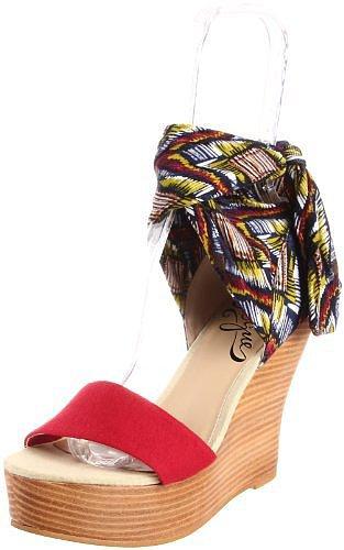 Vogue Women's Angel Underwraps Wedge Sandal