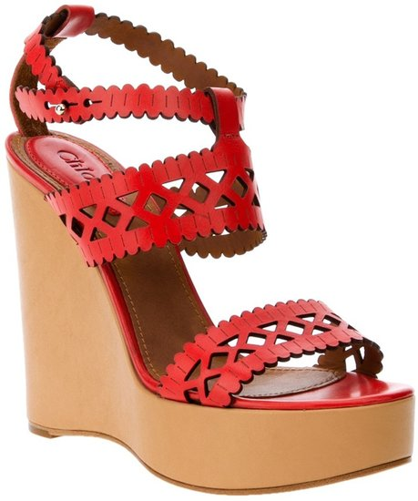Chloé wedge sandal