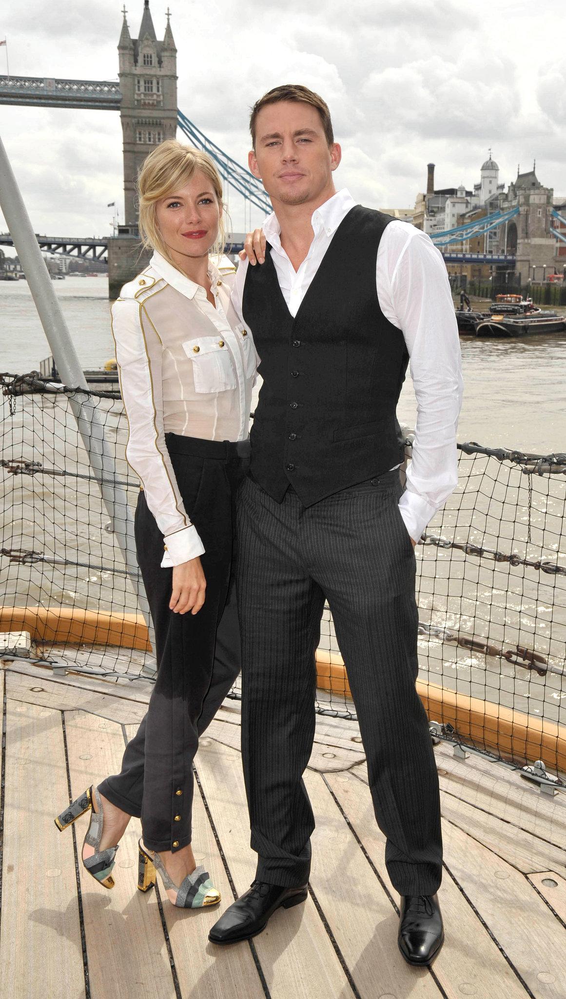 Sienna Miller and Channing Tatum
