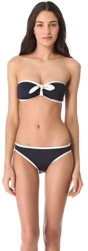 Marc by marc jacobs Woodward Solids Bandeau Bikini Top