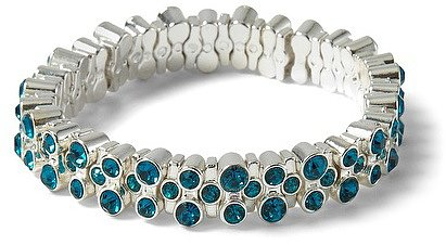 Lagoon Crystal Stretch Bracelet