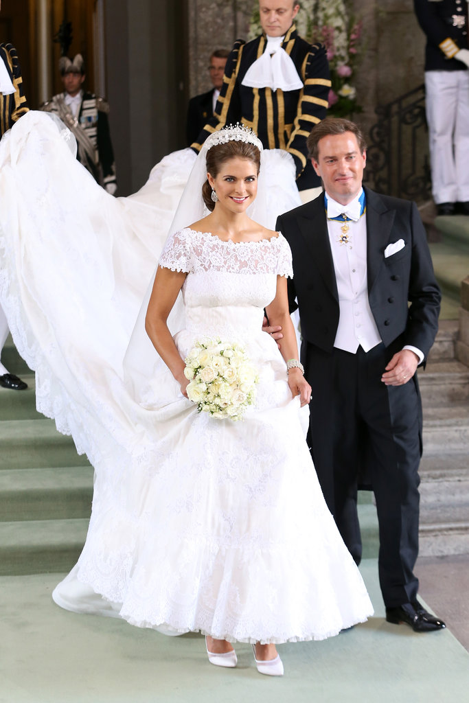 Sweden's Princess Madeleine Marries a US Banker in Lavish Royal Wedding!