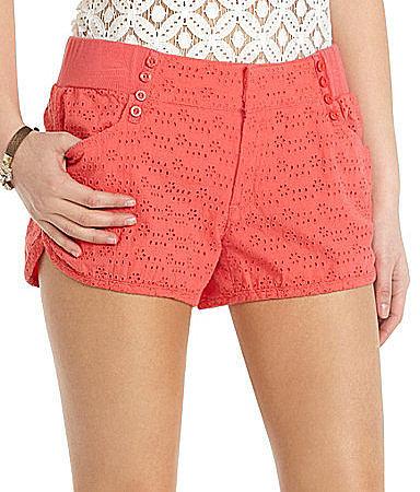 Jolt Eyelet Sailor Shorts