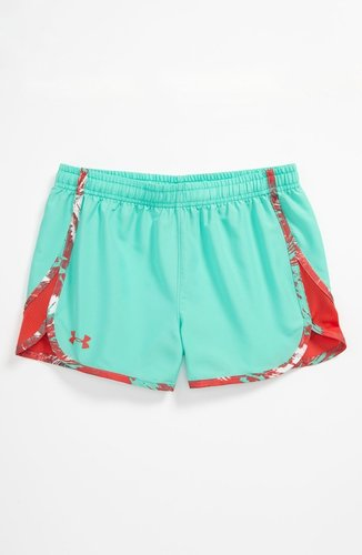 Under Armour 'Escape In' Shorts (Big Girls)