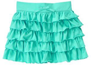Ruffle Tiered Knit Skirt