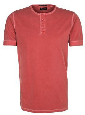 Jack & Jones RUGGED ADAN GRANDDAD Basic Tshirt red