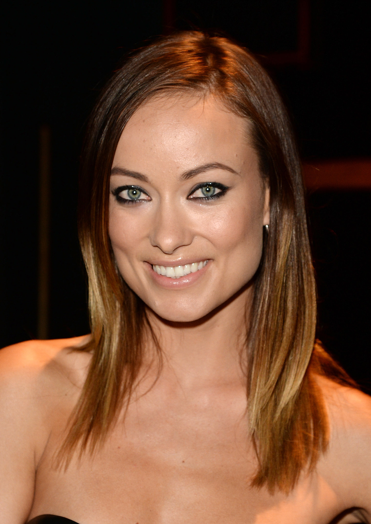 With her subtly bronzed skin and sun-kissed highlights, Olivia Wilde was the picture of Summer perfection at the Guys Choice Awards.