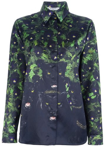 Givenchy Panther print shirt