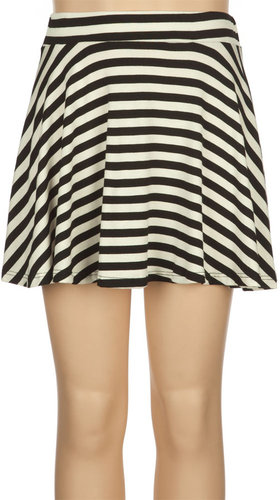 FULL TILT Striped Girls Skater Skirt