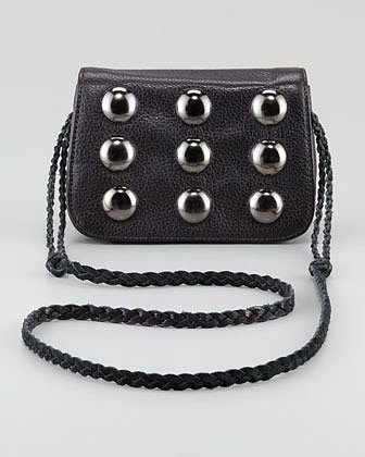 Kelsi Dagger Tyler Bead-Front Crossbody Bag