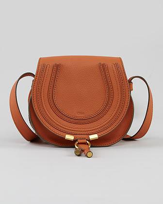 Chloe Marcie Crossbody Bag, Suntan
