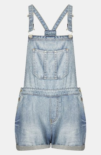 Topshop Moto 'Tommy' Vintage Overalls (Petite)