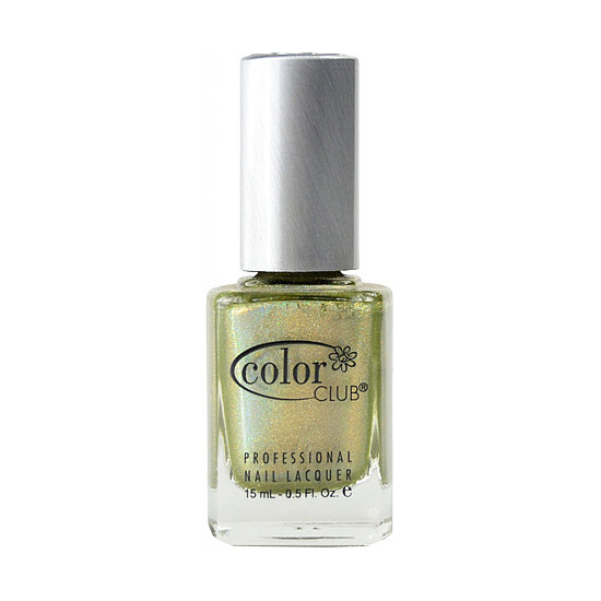 Color Club Kismet ($10) is one of the latest shades in the brand's Halo Hues collection. This soft chartreuse is packed with fine holographic glitter for an eye-catching finish.