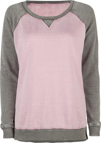 FULL TILT Essential Womens Burnout Sweatshirt