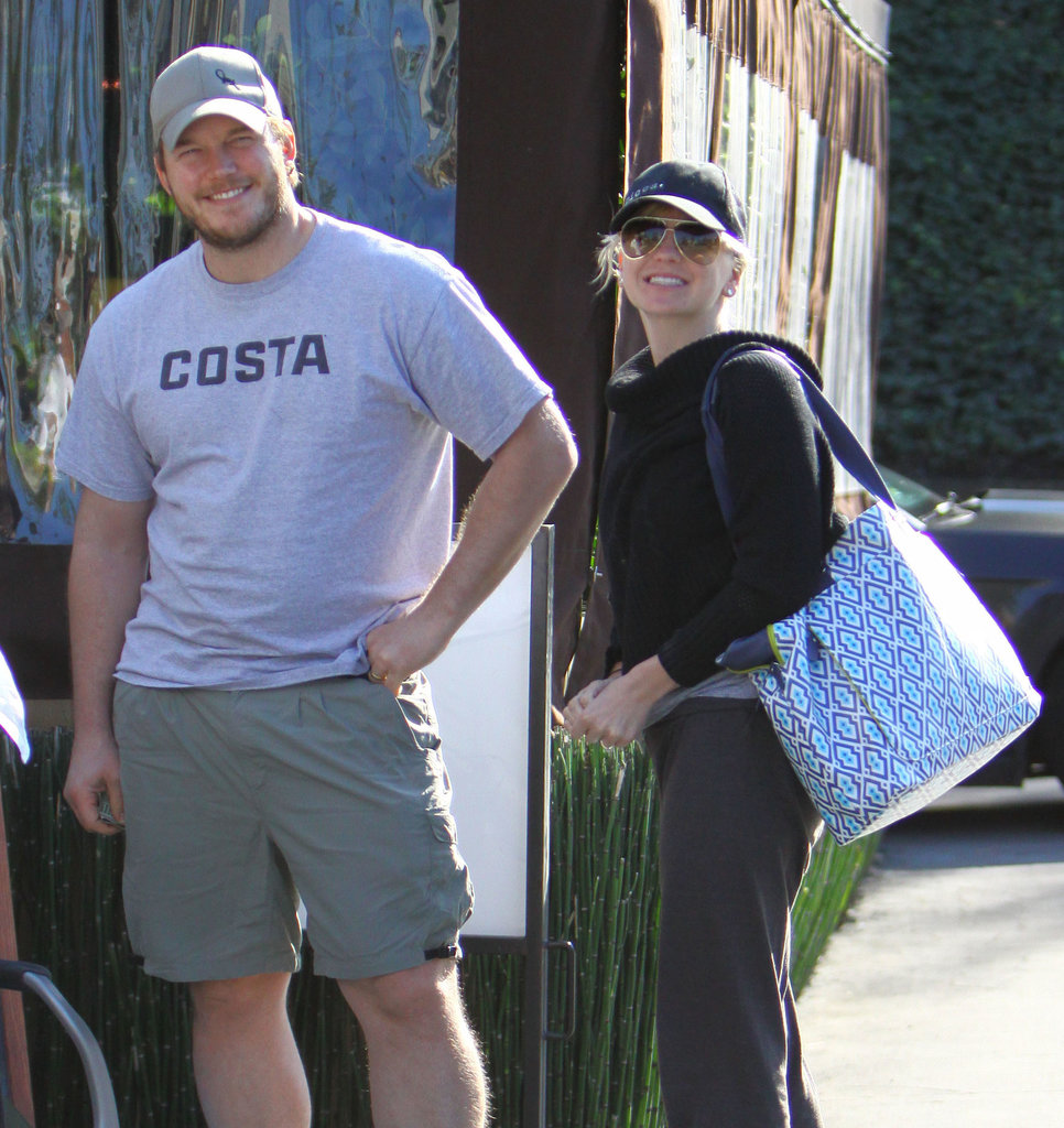 Chris Pratt and Anna Faris welcomed their son, Jack, to the world in August 2012.
